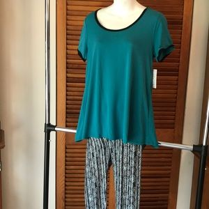 LulaRoe Perfect T Small and one Size Leggings